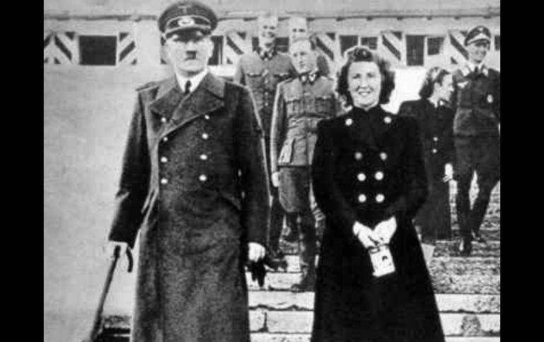Publican 30 Fotografías Inéditas De La Pareja De Hitler Eva Braun