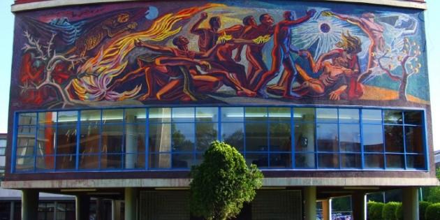 Cumple 60 a os el mural 39 la conquista de la energ a 39 de for El mural jalisco
