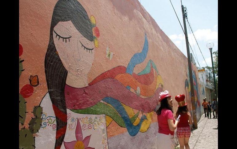 Ong Y Poblanos Rescatan Espacios Con Muralismo El Informador