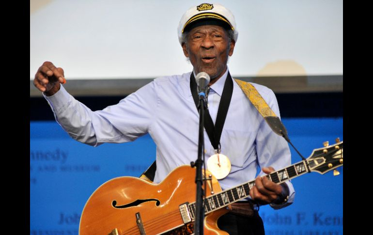 Chuck berry es una figura emblemática del Rock and Roll. AP  /