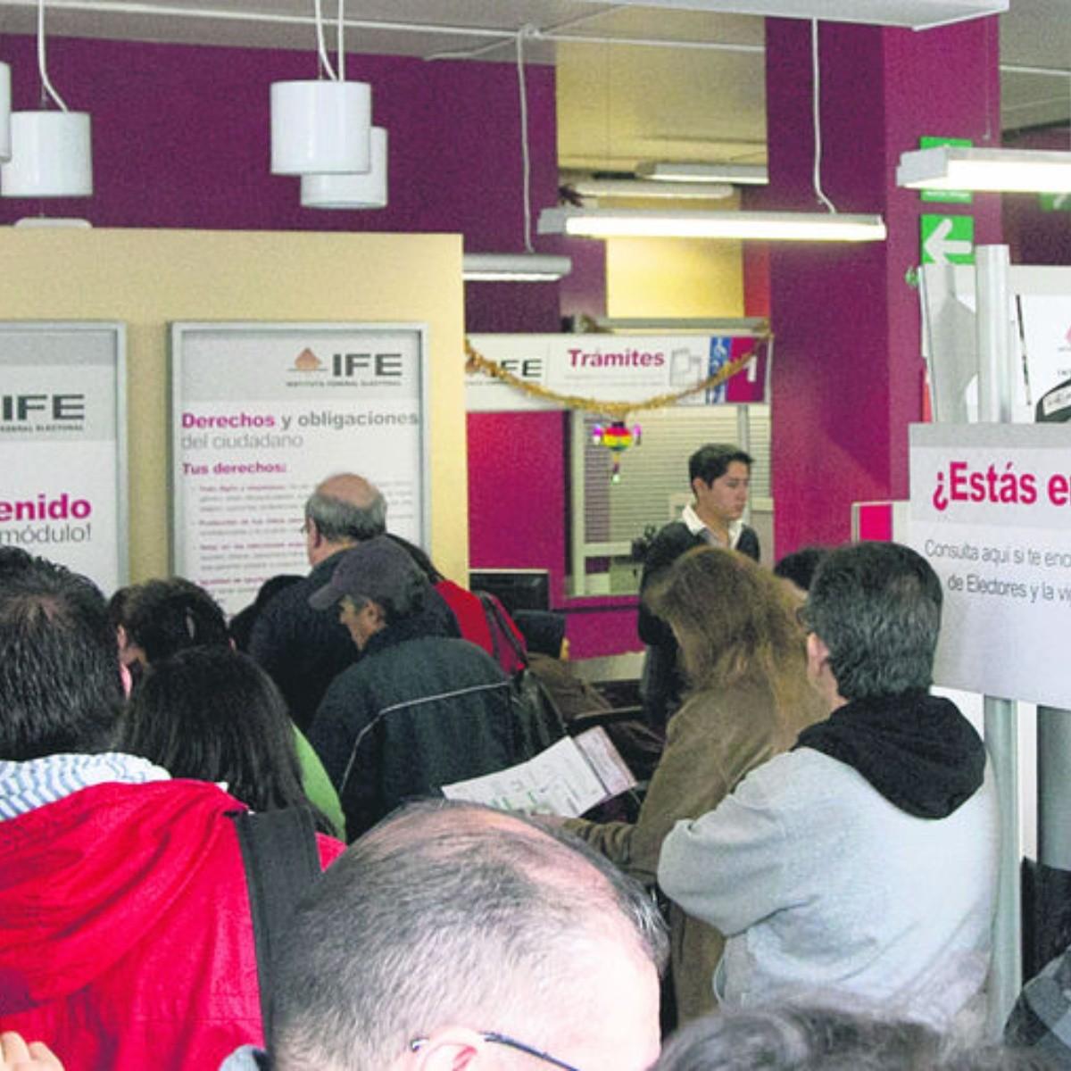 El Ife Llama A Renovar La Credencial De Elector El