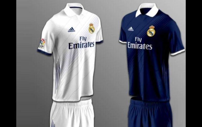 aabb6f28ab71e Posible uniforme del equipo español. Imagen tomada de Twitter. ESPECIAL