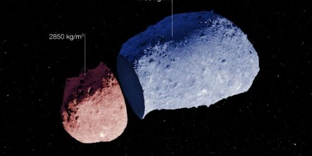 Determinan estructura interna de un asteroide