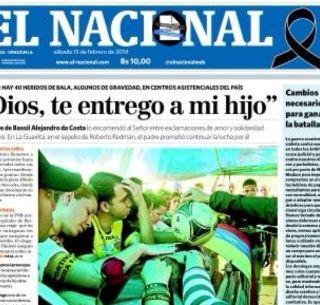 Diario El Nacional Se Achica Por Falta De Papel El Informador Noticias De Jalisco Mexico Deportes Entretenimiento