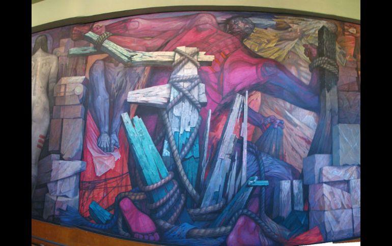 Murales De Bellas Artes Rufino Tamayo