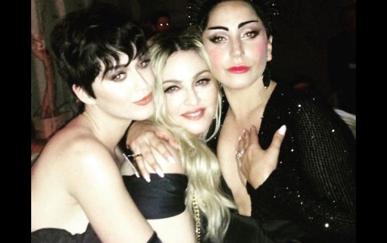 Madonna, Katy Perry y Lady Gaga hacen las paces