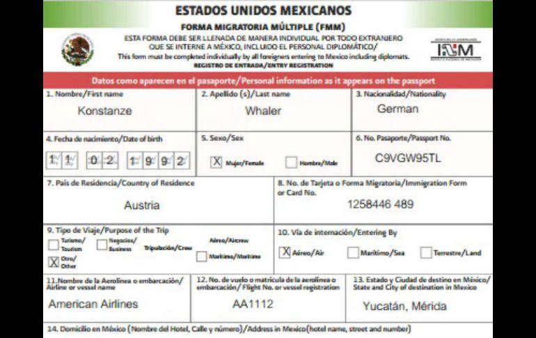 nuevo formato migratorio electrónico facilita entrada a méxico