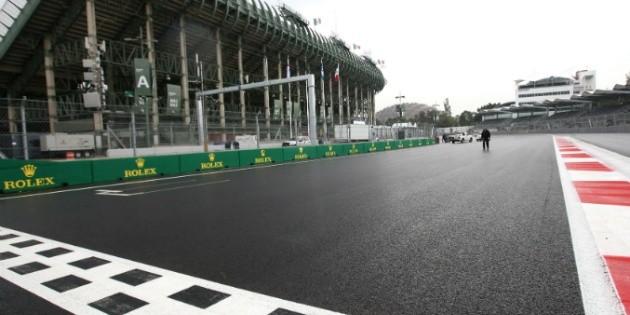 Pista del aut dromo queda lista para pruebas del gp m xico for Puerta 6 del autodromo