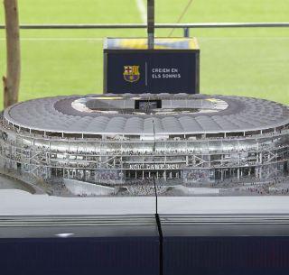 Barcelona Presenta Maqueta De Su Nuevo Estadio El