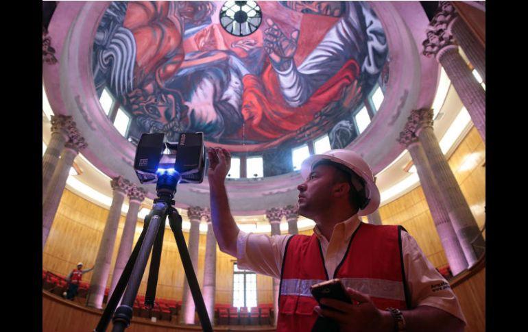 Evaluan Afectaciones En Murales De Orozco Con Diagnostico En 3d El