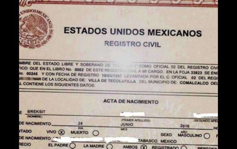 Nombran a una niña mexicana \'Breksit\' tras el referendo en Reino ...