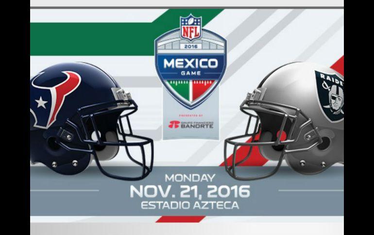 Houston y Oakland jugarán en el estadio Azteca el 21 de noviembre  será el  primer df65a0a1645