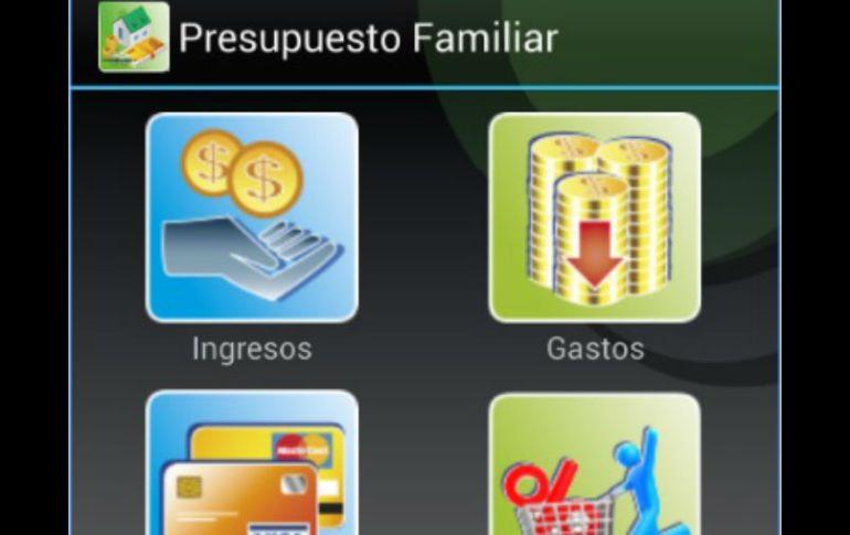 presupuesto familiar app para llevar control de gastos
