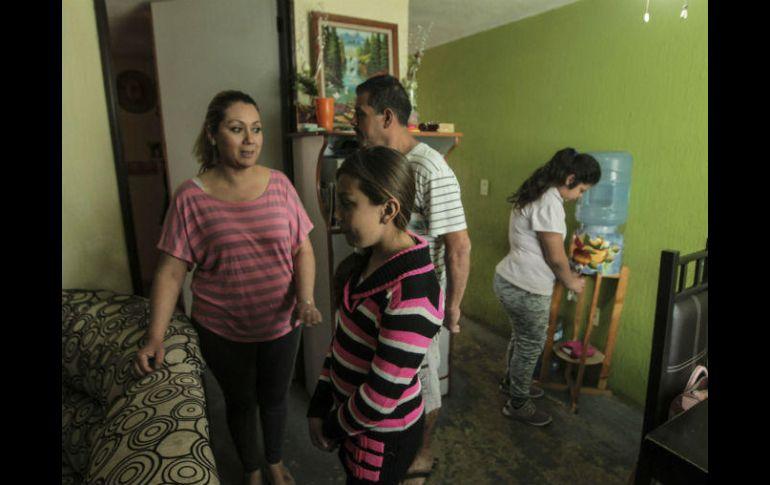 Por mil 500 pesos al mes, la familia Gutiérrez renta una casa de 60 metros cuadrados. EL INFORMADOR / F. Atilano