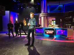 'Conan O'Brien Without Borders: Made in Mexico' se grabó en uno de los estudios de Televisa. FACEBOOK / @teamcoco