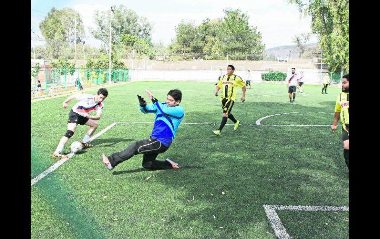 47819dba Cada partido de futbol 7 se juega con gran intensidad, pues quienes  practican esta modalidad
