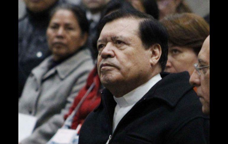 Norberto Rivera presenta su renuncia al Papa Francisco
