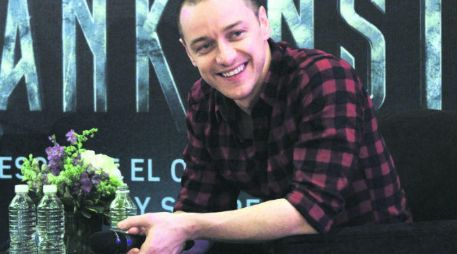 James McAvoy. El actor, tentado a volver a la saga de 'X-Men'. NTX /