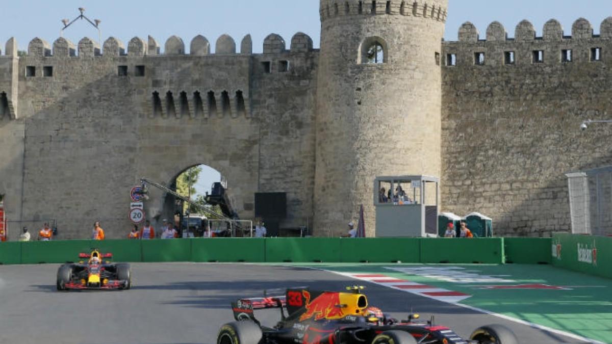 Circuito Urbano De Baku : El mundial de las sorpresas aterriza en baku