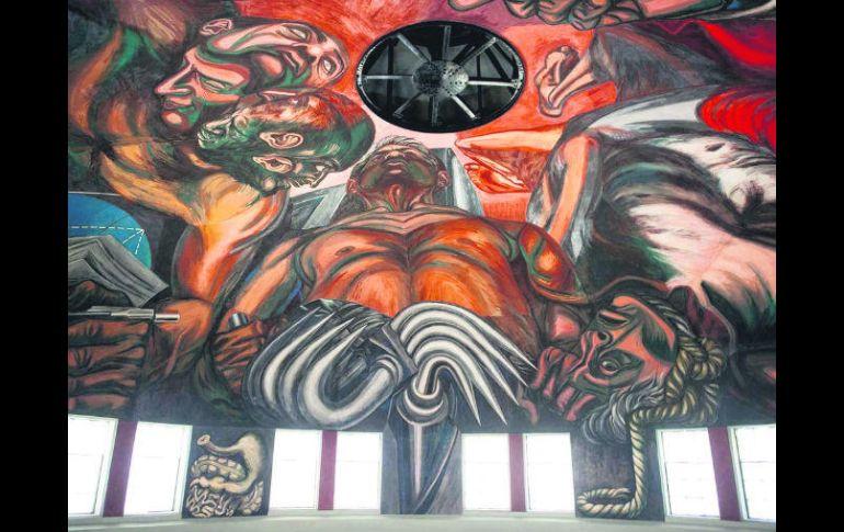 Restauran Murales De Orozco En El Paraninfo El Informador