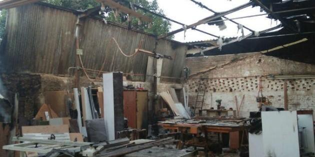 Atienden incendio en f brica de muebles en san agust n el informador noticias de jalisco - San agustin muebles ...