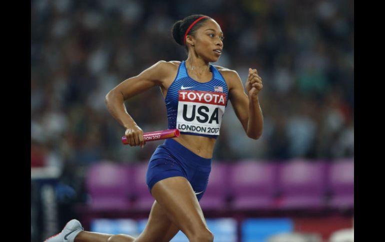 82dff8c205db Allyson Felix impone récord de medallas en Mundiales de Atletismo ...