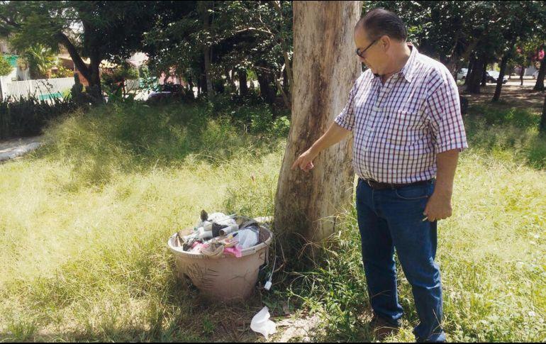 Los basureros han sido comprados por los vecinos con su propio dinero. EL INFORMADOR/A. García