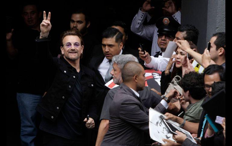 La banda irlandesa U2 ofrecerá esta noche su segundo concierto en el Foro Sol. SUN / C. Mejía