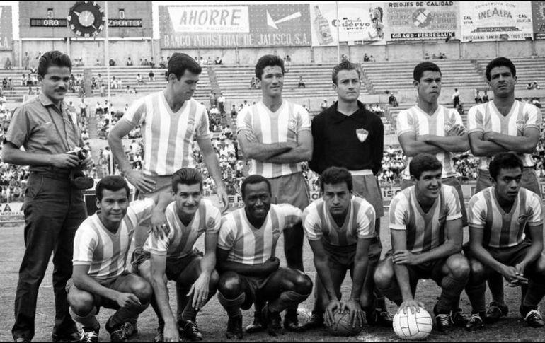 El club Oro marcó una época en el futbol de Guadalajara. EL INFORMADOR/ARCHIVO