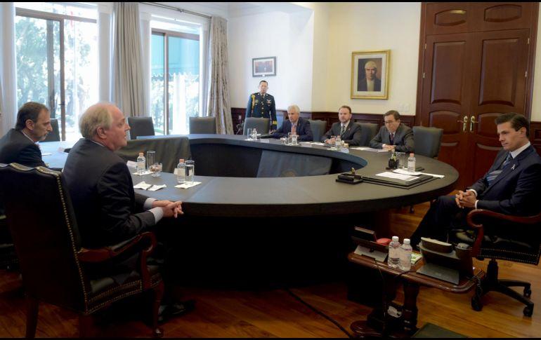 EPN afirma que la reconstrucción costará 48 mil millones de pesos
