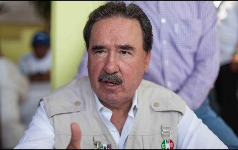 PRI ya no cree en Santiago Nieto: Gamboa