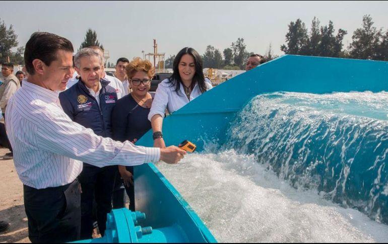 Con nuevo pozo se pretende llevar más agua a Iztapalapa