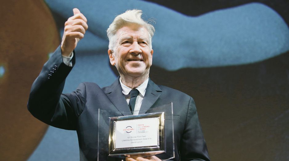 David Lynch. Honrado por el certamen italiano. AP/D. Stinellis
