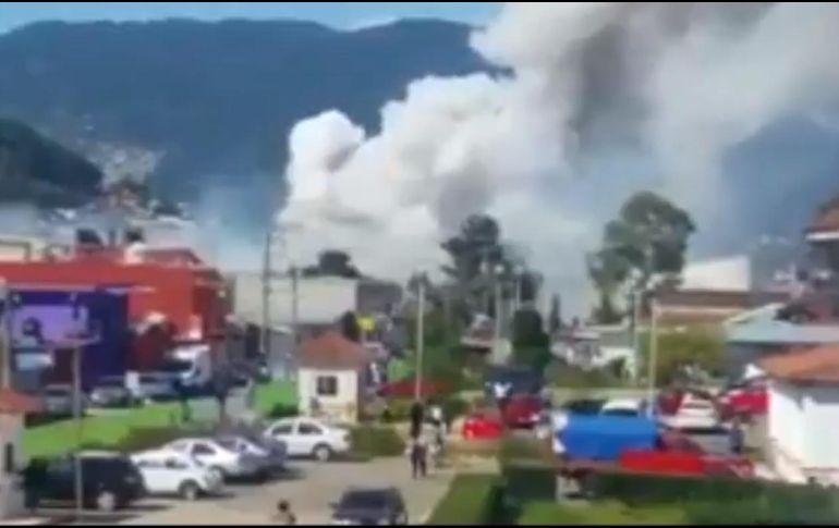 Explota polvorín en San Cristóbal de las Casas; una persona resulta herida