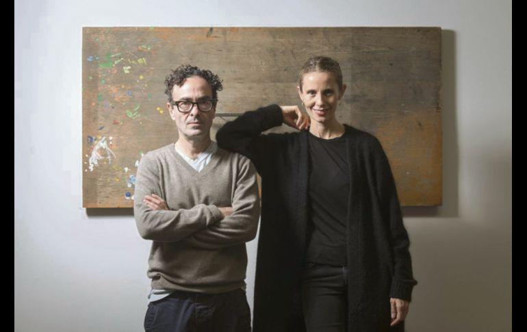 Galeristas. José Kuri y Mónica Manzutto, son los mexicanos mejor posicionados. EL PAÍS