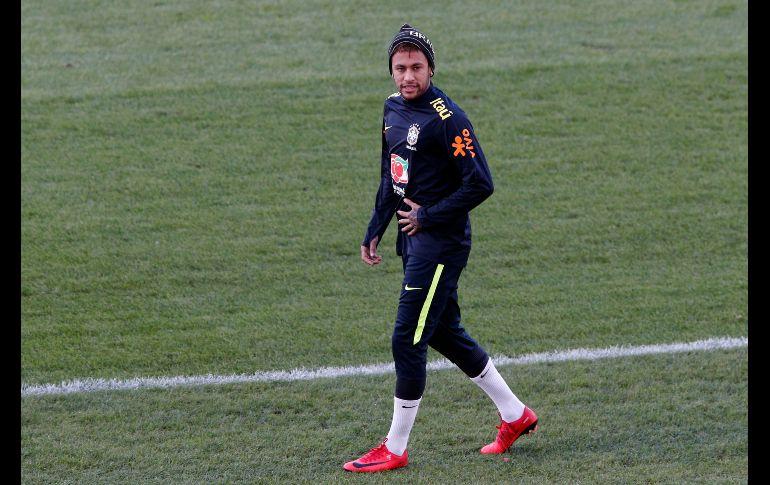 Neymar rompe en llanto en plena entrevista