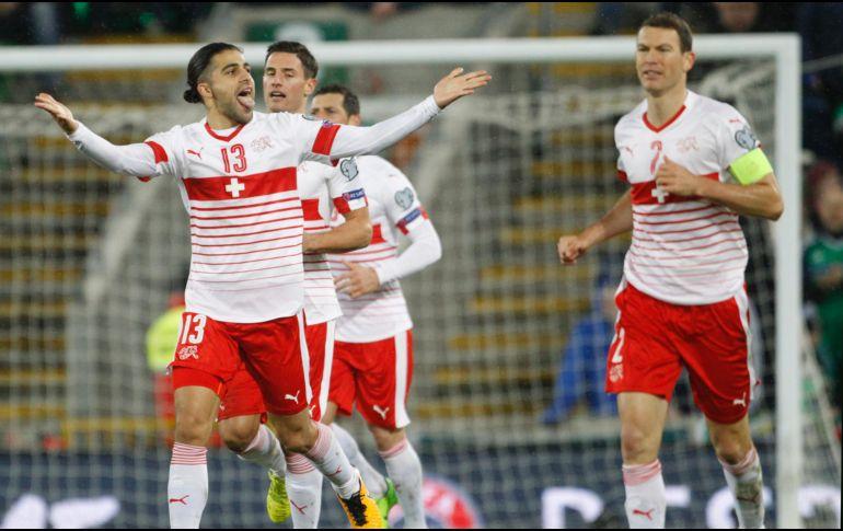 Resultado de imagen para Suiza vence a Irlanda del Norte