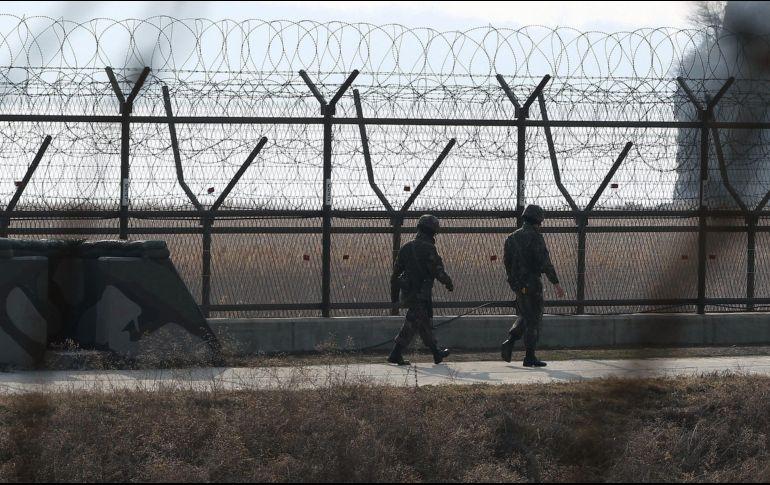 Disparan a soldado norcoreano mientras intentaba huir a Corea del Sur