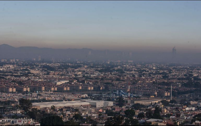 Con la llegada del invierno se agrava la mala calidad del aire; se prevé un aumento en los niveles de contaminación y eventos de contingencias y precontingencias. EL INFORMADOR/Archivo
