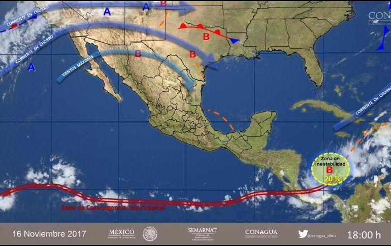 Ambiente frío por la mañana y cálido por la tarde para Michoacán
