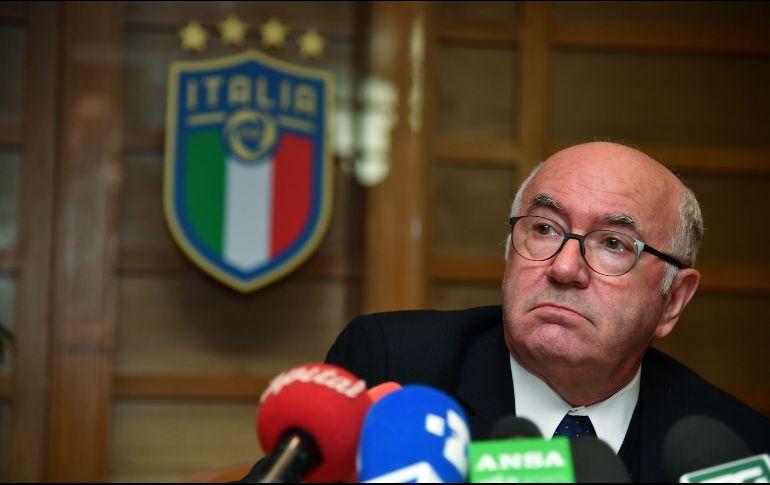 Asume el fracaso: Renunció el presidente de Federación Italiana