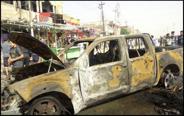 Atentado deja por lo menos 21 muertos en Irak