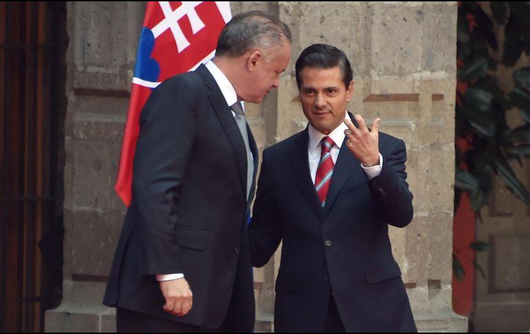 México y Eslovaquia apuntan a reforzar lazos comerciales