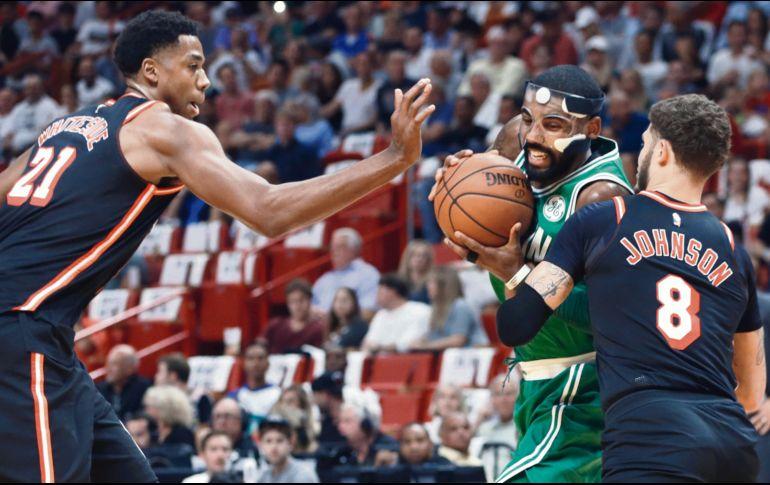 El Heat cortó la racha de 16 triunfos seguidos de los Celtics