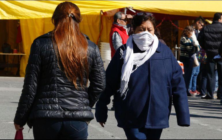 El clima muy frío y con heladas en varias partes del país