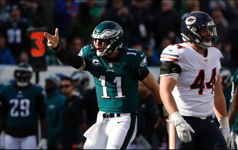 Eagles tritura a Bears y consigue noveno triunfo consecutivo