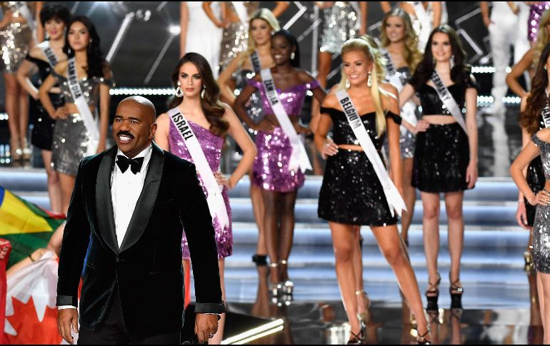 Miss Universo 2017 es conducida por Steve Harvey. AFP / F. Harrison