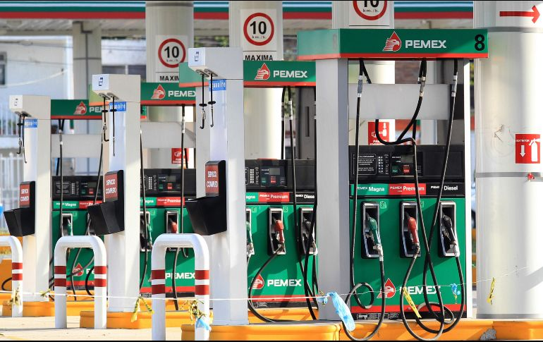 Mañana se liberan precios de gasolinas
