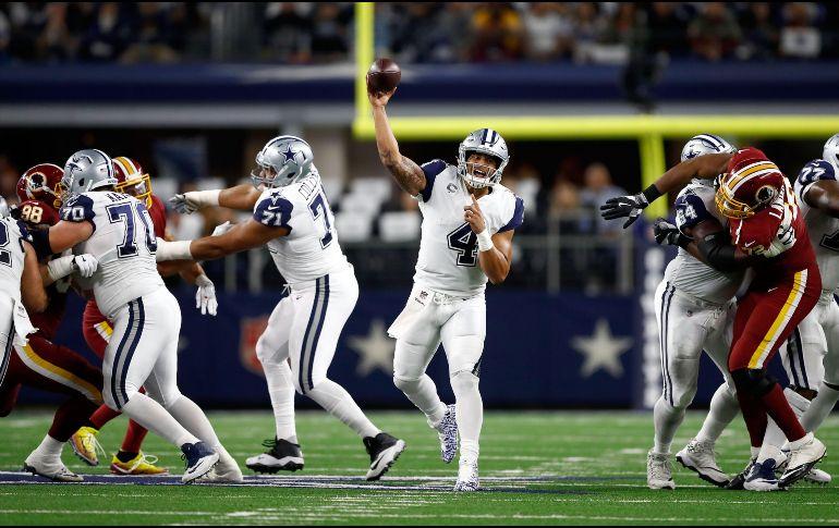 Cowboys cortaron racha de tres derrotas y aún sueñan con playoffs