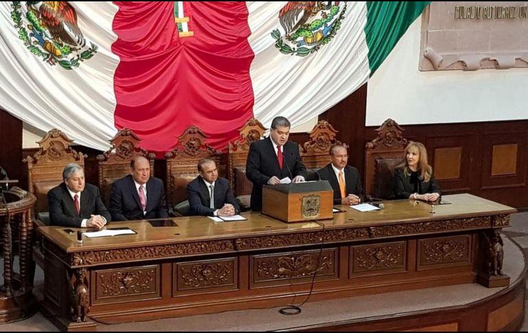 Riquelme Solís impulsará desarrollo económico de Coahuila